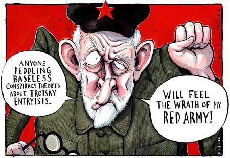 Labour leader Jeremy Corbyn by Morten Morland