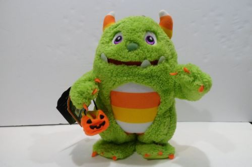 Hallmark-Roary-The-Candy-Monster-Plush-NEW-Halloween-I-Want-Candy