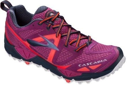 Got these instead of boots - going to try them out. Brooks Cascadia 9 Trail-Running Shoes - Women\'s