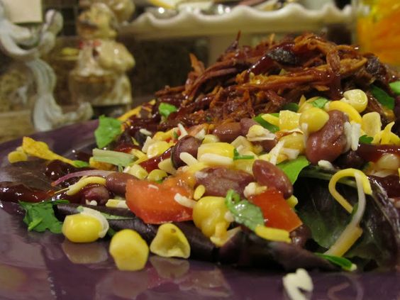 Tropical BBQ Chicken Salad