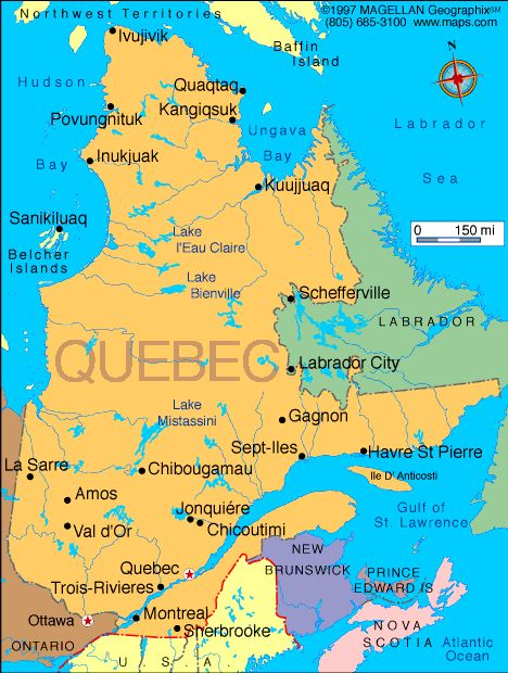 Map Of Quebec Take Me To Paris Or French Canada Pinterest - Quebec map