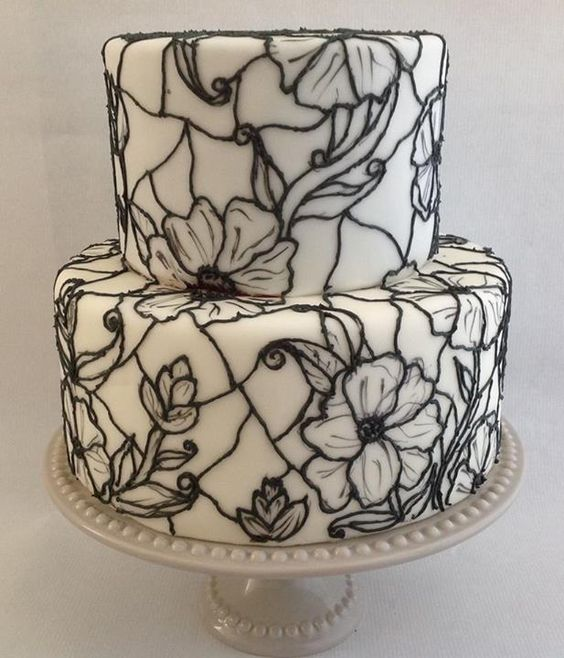 Read More Cake Tutorial And Glasses On Pinterest