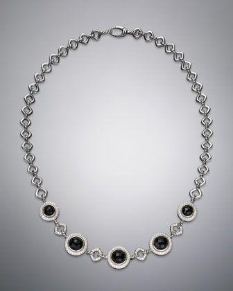 "Cerise Necklace, Black Onyx, 18.5"" by David Yurman at Neiman Marcus."