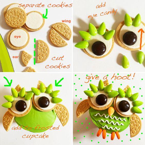 GIVE A HOOT…OWL CUPCAKES!! – Hello Cupcake