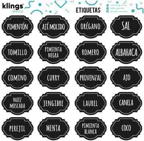 comprar real para toda la familia exuberante en diseño 12 Etiquetas Para Frascos, Frases, Vinilo Transparente ...