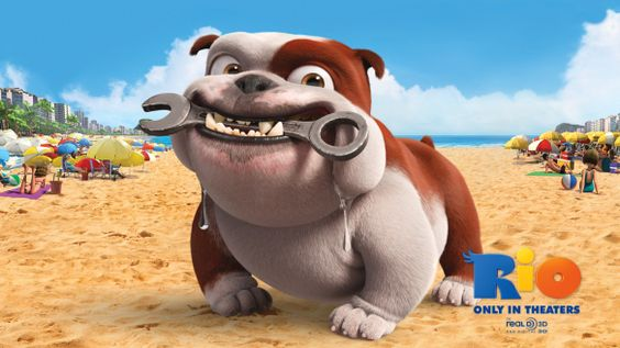 Bulldog cartoon :)
