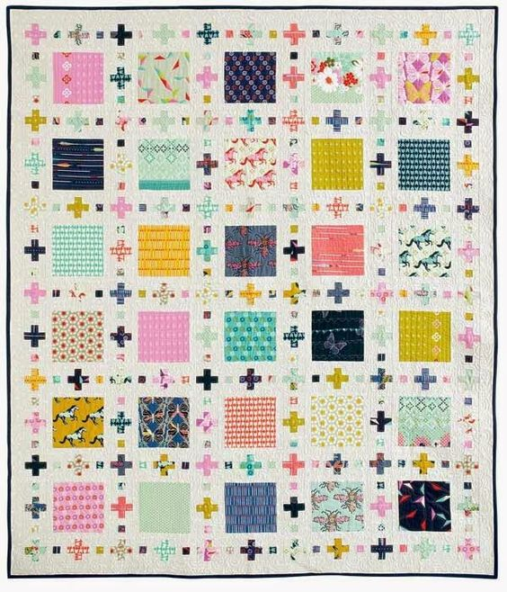 Squares Plus - featured in McCalls Quick Quilts Feb/Mar 2015: