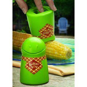 Cute idea for buttering corn!