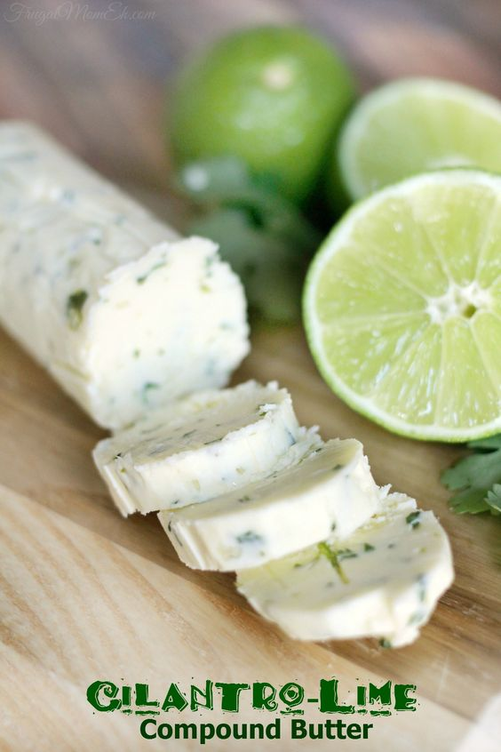with herb butter herb lemon zest butter cilantro lime herb butter ...