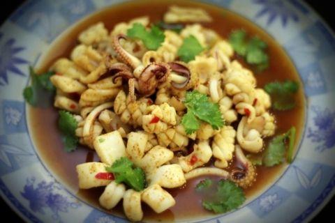 Indonesian Sweet Tamarind Calamari