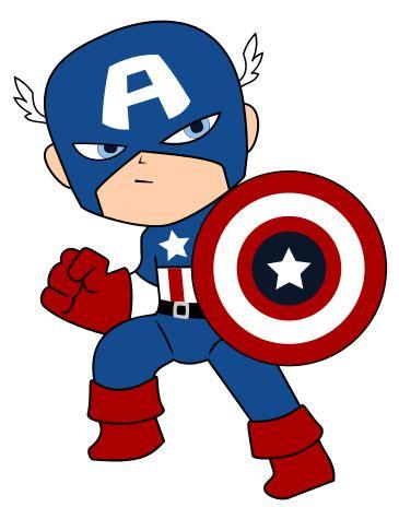 Baby Captain America Clip Art Krafty Nook Super Heroes