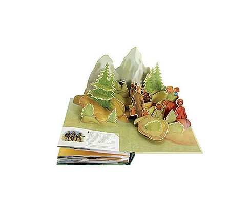the sound of music pop up book