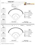 baseball position chart template - baseball spray chart template blank softball lineup card