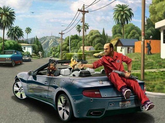 Pin By Pouya Maroufi On Gta Gta Grand Theft Auto Artwork Gta 5
