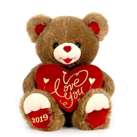 Baby Net For Stuffed Animals, Toys In 2020 Valentines Day Teddy Bear Teddy Bear Gifts Brown Teddy Bear