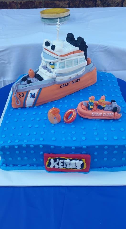 Coast Guard Lego Cake Design 60th Birthday Party Children Party Lego City Lego Lego Birthday Party 60th Birthday Party Lego Birthday