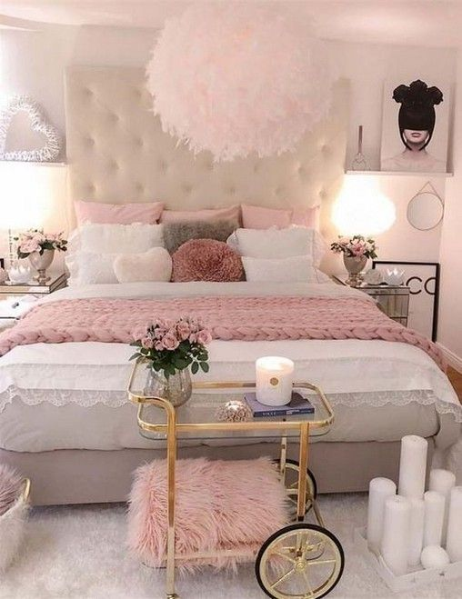 20 Luxury Bedrooms With Images Tips Accessories To Help You Design Yours Pink Bedroom Design Pink Bedroom Decor Girl Bedroom Decor Luxury pink bedroom ideas