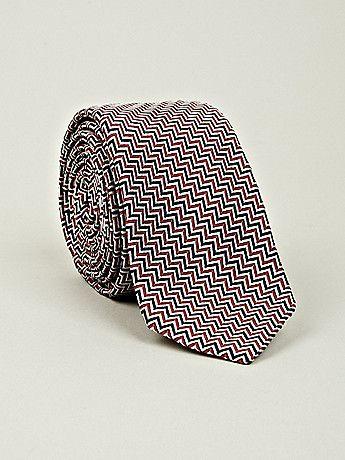 Thom Browne Men's Classic Tie in red / white / blue at oki-ni