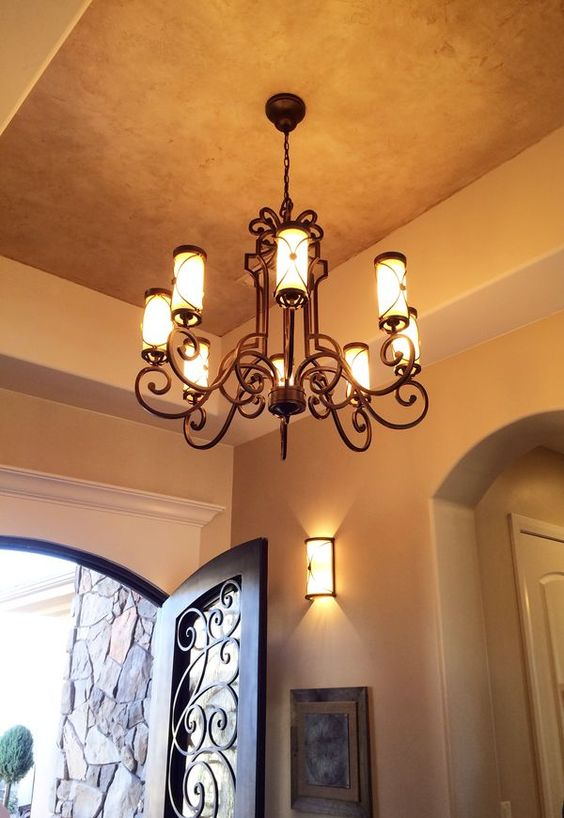 Painted ceilings cool dream house ideas pinterest for Cool painted ceilings