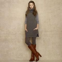 Cashmere-Wool Turtleneck Tunic - Blue Label Turtlenecks - RalphLauren.com