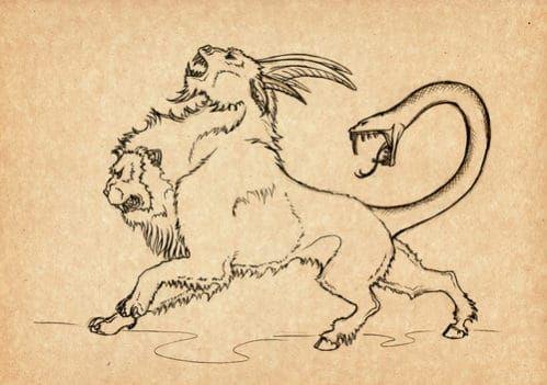 怪物 ギリシャ 神話
