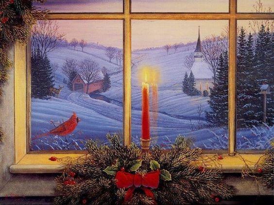 Sam Timm (b.1964) — Candlelight  (1024x768):