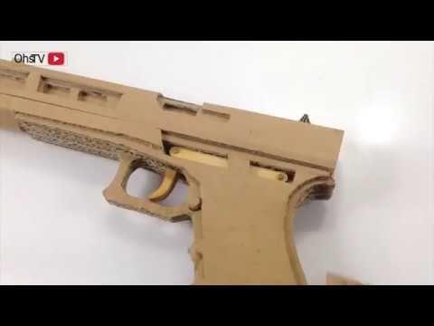 كيف تصنع مسدس من الورق Youtube In 2021 Guns Hand Guns