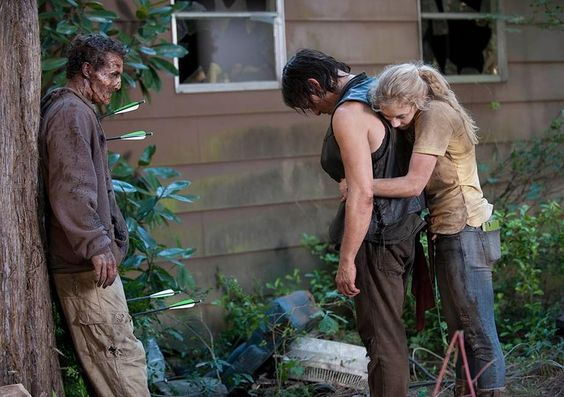 Daryl Dixon (Norman Reedus) and Beth Greene (Emily Kinney) in Episode 12 - Cosmic Book News