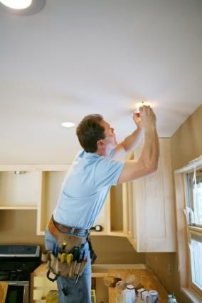 How to install recessed lighting (use to highlight task areas and add to the mood of the room)
