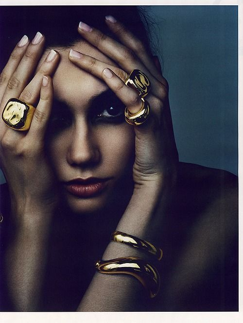 Institute Style Magazine - Ben Hassett photograph. You can never go wrong with gold pieces.