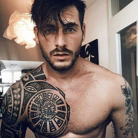 Beard Beast Beardandbeast Instagram Photos And Videos Hotsexytattos Polynesian Tattoo Tattoos Tattoos For Guys