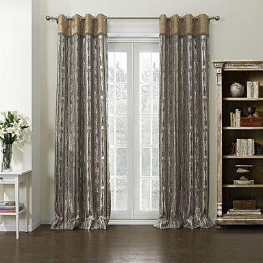 (One Pair) Neoclassical Luxurious Energy Saving Curtain  – USD $ 99.99