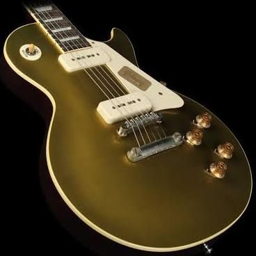'56 Les Paul Darkback Electric Guitar with Goldtop