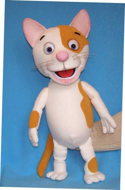 Cat , puppet doll