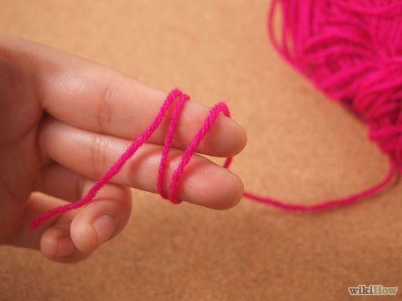 Bildtitel Crochet a Magic Ring Step 6