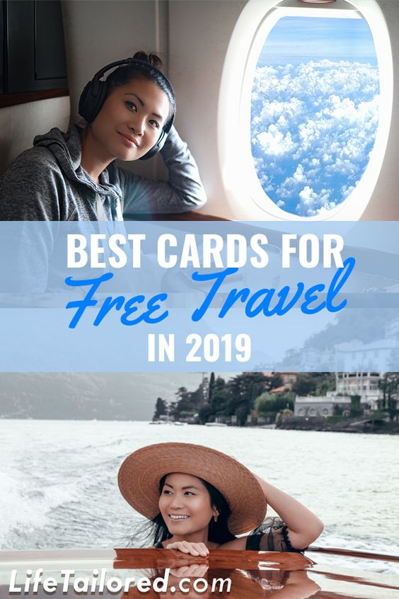 Find out which credit cards are the best travel cards of 2109. Learn tips on how to fly free with points and miles using these credit cards! || Life, Tailored #creditcards #travelforfree #bestcreditcards #2019creditcards  #lifetailored