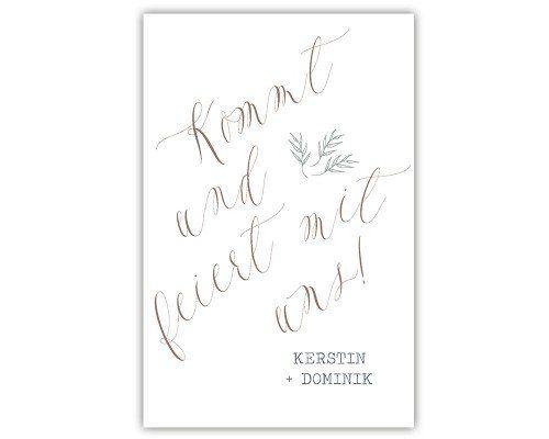 enchanted redwoods Hochzeitseinladung   Hochzeitseinladungen   papierhimmel