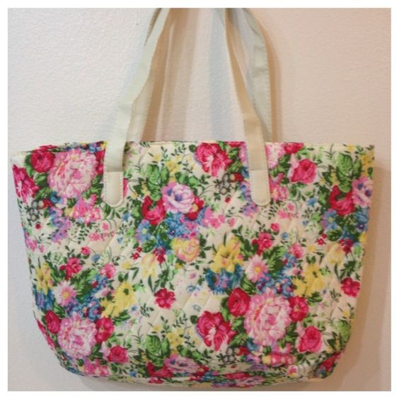 🎉❤ 🎉 😊HP Floral quilted tote bag NEW 🎉❤ 🎉😊HP | Tops ... : quilted floral tote bags - Adamdwight.com