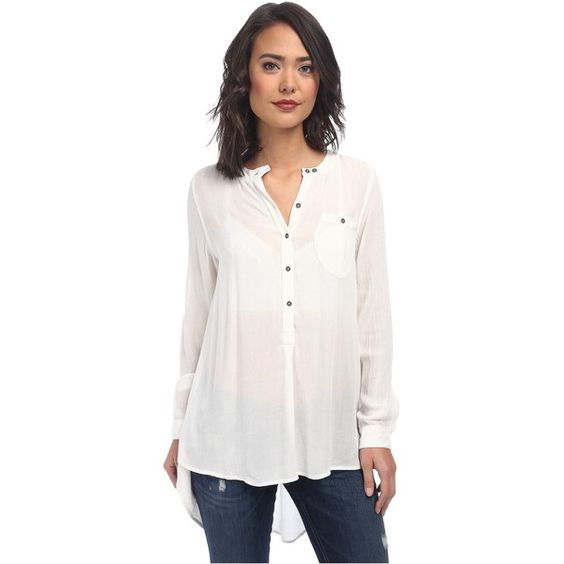 Free people solid rayon gauze boyfriend button down women for Gauze button down shirt