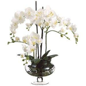 artificial white orchids - Buscar con Google