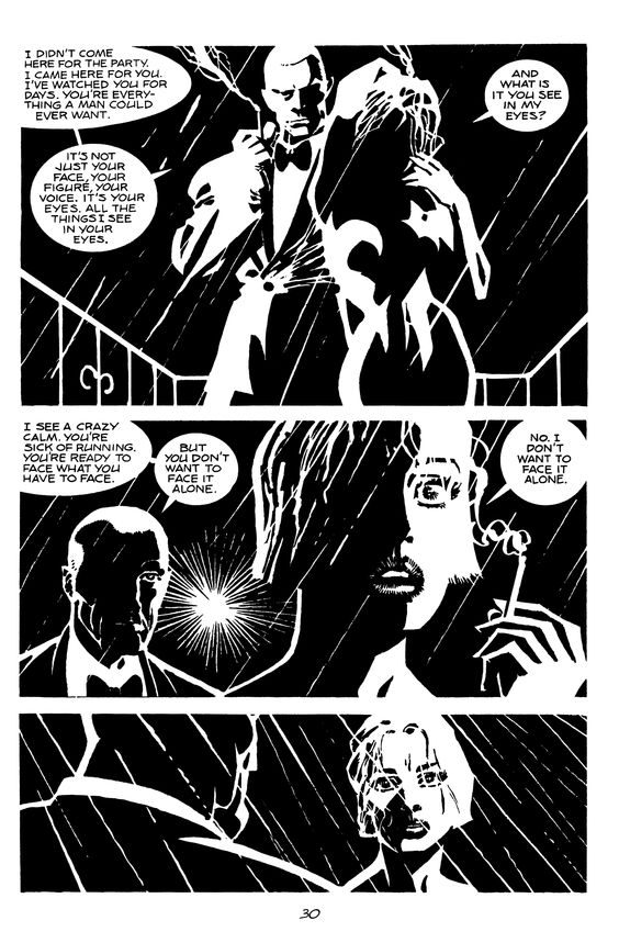 Sin City: The Customer Is Always Right page 2 by Frank Miller