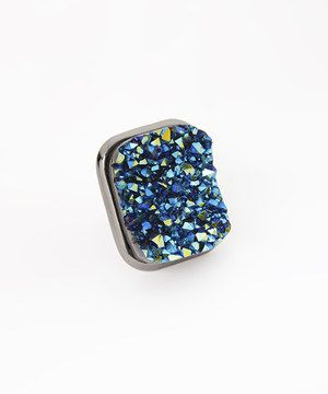 Another great find on #zulily! Purple & Blue Crystal Ring by Accessories West Imports #zulilyfinds