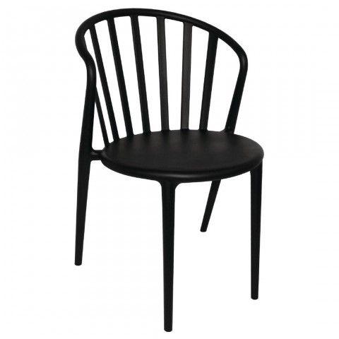 Chaises A Barreaux En Pp Bolero Noires Chaise Design Chaise Chaise Noire