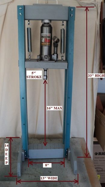 Economy Hydraulic Shop Press Shops Pictures Of And Homemade