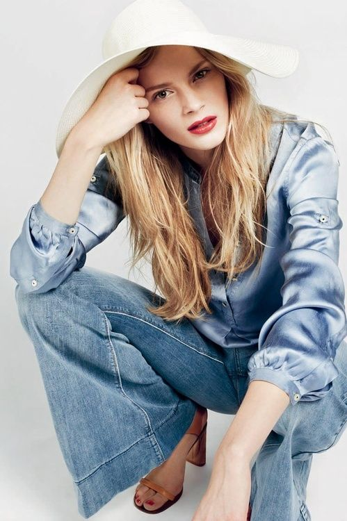 Denim & Silk