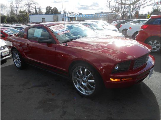 Coupe 2008 Ford Mustang Deluxe With 2 Door In Roseville Ca
