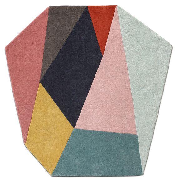 Moderne Teppiche in verschiedenen Größen und Formen für Ihr Zuhause