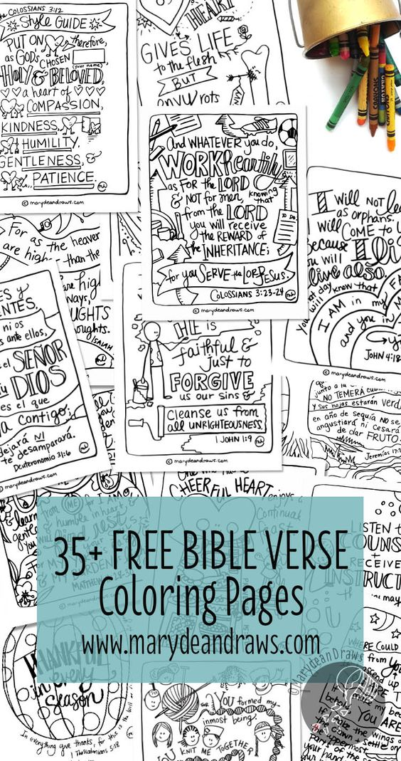More than 35 and always adding FREE handdrawn Bible