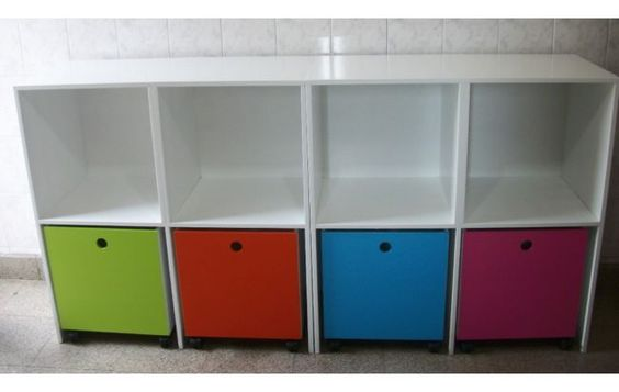 Mueble para juguetes bebes pinterest for Mueble juguetes