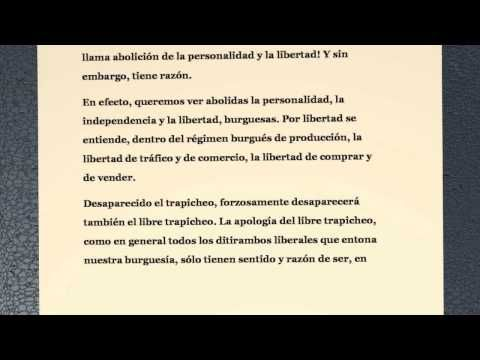 El Manifiesto Comunista Karl Marx Y Friedrich Engels Youtube Karl Marx Manifiesto Marx